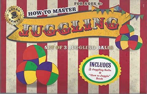 "'Robert Frederick ""Juggling"" Vintage Stripe Learn To Play Set with Book, Plastic, Assorted"