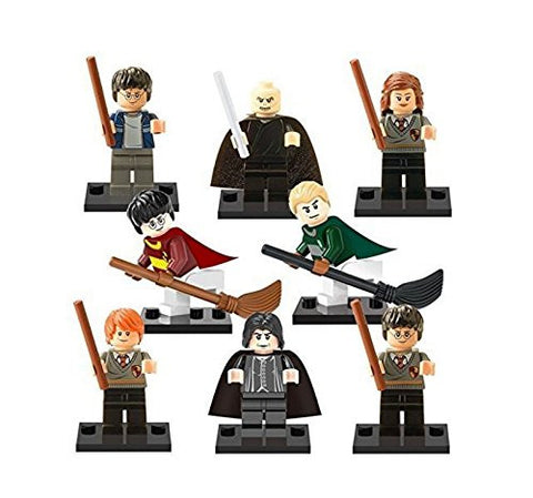 2016 New Brand 8 PCS Harry Potter Minifigures Building Block Toys For Children's