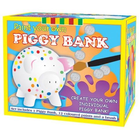 (Toyrific) Paint Your Own Piggy Bank Pink