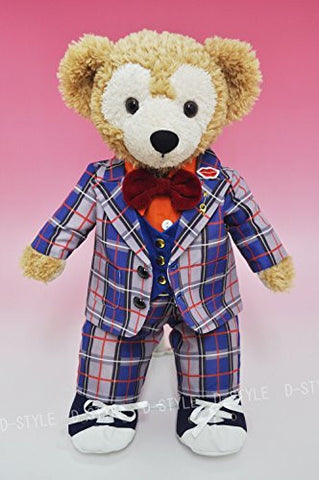 """Duffy style"" S size 43cm Duffy to Sherry Mae stuffed perfect clothes TM popular idol check costume Y Dress Costume D548C"