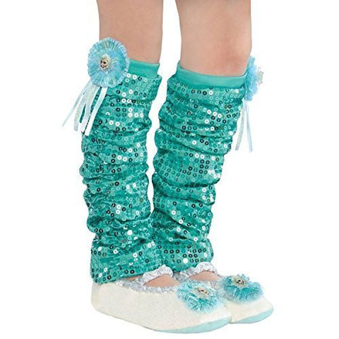 """Frozen"" Girls Elsa Leg Warmers"
