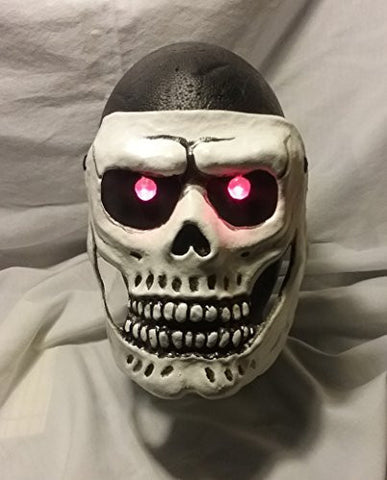007 Skull Mask with LED Eyes