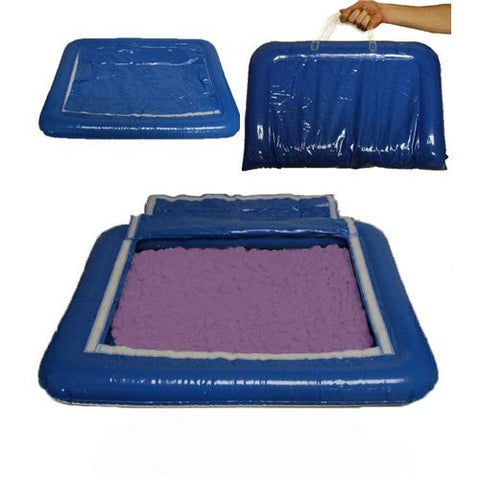 5 lbs of Purple Shape-It Sand & Inflatable Sand Tray