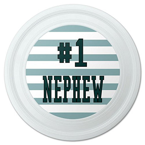 "#1 Nephew Number One Favorite Novelty 9"" Flying Disc"