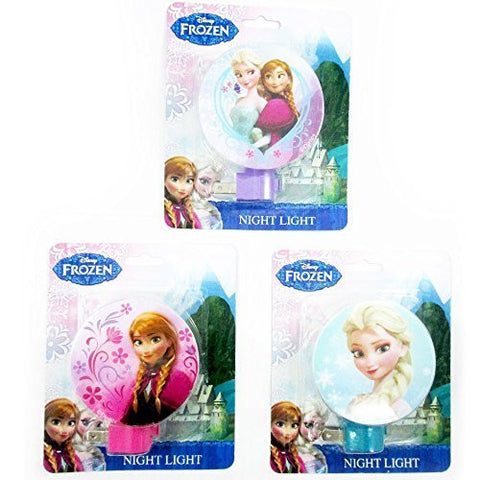 1 Disney Frozen Night Light Elsa Anna Plug In Girls Room Decor Gift Licensed New by ATB