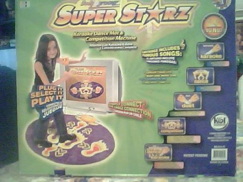 Body Groovz Super Dancer Dance Mat with Microphone