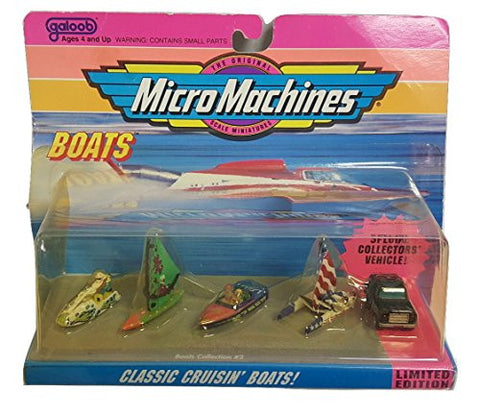 #2 Boat Collection by Micro Machines
