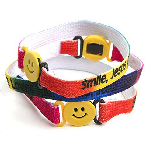 """Smile Jesus Loves You"" Bracelets"