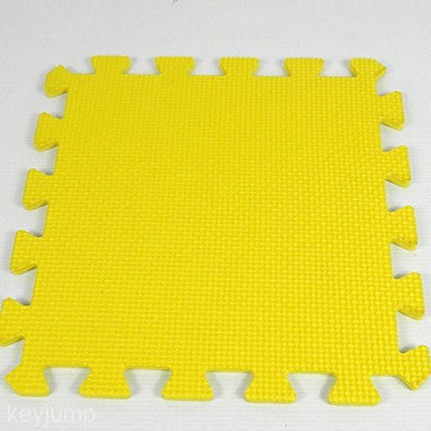 1 set Yellow Princess Foam Play Mat Selected by MTOO Play - Indoor Kids Play Mat Floor Mats for Kids
