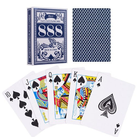 1 Deck of Bird 888 Poker Playing Cards - Choose Color