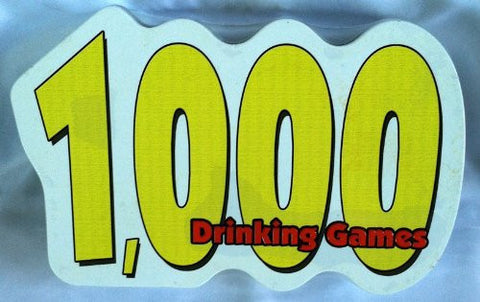 1,000 Drinking Games Special Edition Tin 2004