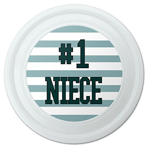 "#1 Niece Number One Favorite Novelty 9"" Flying Disc"