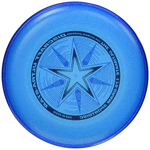 (Ship from USA) Discraft Ultra-Star Ultimate Frisbee 175 Gram Sportdiscs-Blue Sparkle -ITEM#: G15/uiF982A8140