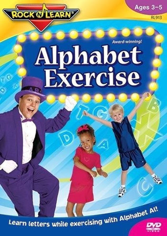 * ALPHABET EXERCISE DVD