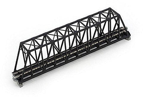 1 X N 248mm 9-3/4 Truss Bridge, Black, Model: , Toys & Play