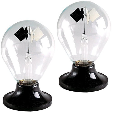 (Set of 2) Tedco Solar Engine Radiometer Sphere - Bright Light Bulbs (Set of 2)
