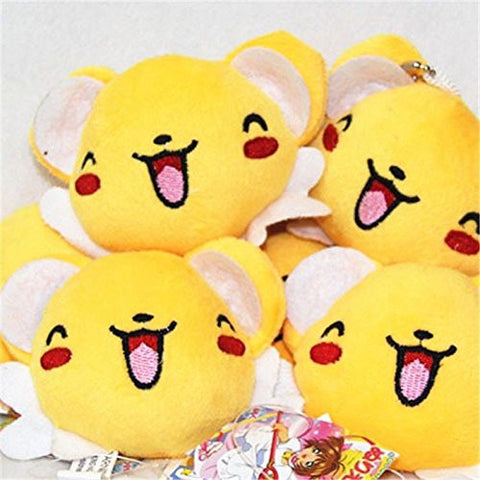 """Card Captor Sakura Kero Keroberos 3"""" Plush Toy Stuffed Doll Keychain Keyrings"""