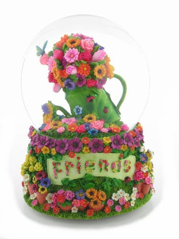 """Friends"" Waterglobe Figurine San Francisco Music Box Retired"