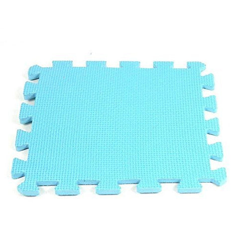 1 set Blue Princess Foam Play Mat Selected by MTOO Play - Indoor Kids Play Mat Floor Mats for Kids