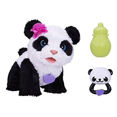 (Ship from USA) FurReal Friends Pom Pom My Baby Panda Pet Age 4+ -ITEM#: G15/uiF982A1873