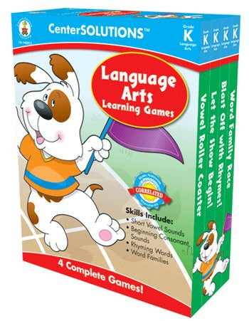 * LANGUAGE ARTS LEARNING GAMES GR K