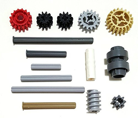 15 Pieces, Axles & Gears Shifter Ring Kit