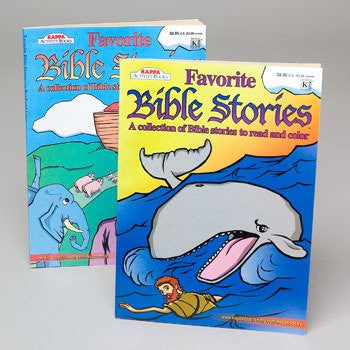 """Favorite Bible Stories"" Coloring Book"