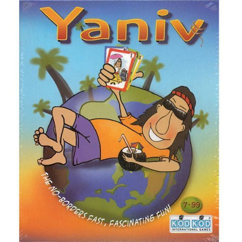 """Yaniv"" Fun Family Card Game By Kodkod -Affordable Gift for your Little One! Item #LMID-1484"