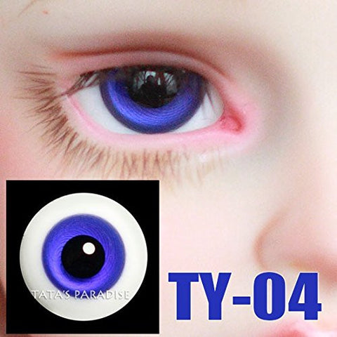 1/3 1/4 1/6 BJD Eyes 14mm/ 16mm blue Eyeballs for SD/MSD/YSD/70CM Ball-jointed Doll