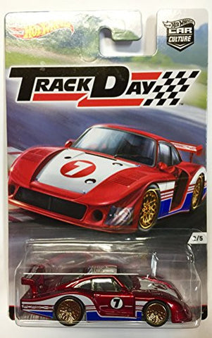 '78 Porsche 935 TRACK DAYS Car Culture Case D 2016 Hot Wheels