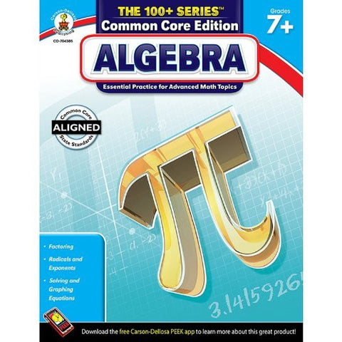 * ALGEBRA BOOK GRADES 7 & UP