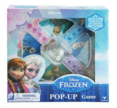 1 X New Disney Frozen Princess Elsa & Anna Board Game Pop-up Game for Kids