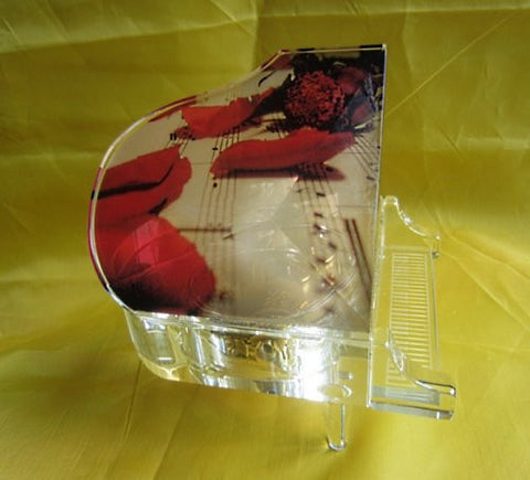 """Fur Elise"" Crystal Piano Music Box"