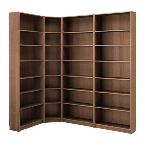 Ikea Bookcase, brown ash veneer 14204.171726.2214