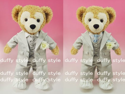 """Duffy style"" original TM S size 43cm Duffy Sherry Mae stuffed in perfect clothes TM wedding suit gray D398C"
