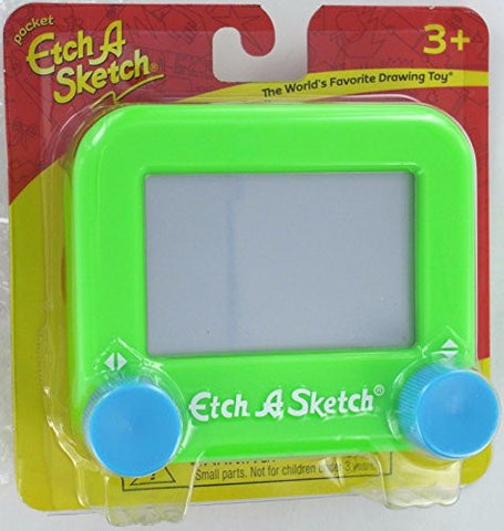 (USA Warehouse) Hot Pocket ETCH A SKETCH Drawing Toy Ohio Art 516 Etch-A-Sketch Plastic Mini MOC **ITEM#NO: 43E8E-UFE6 C2A277