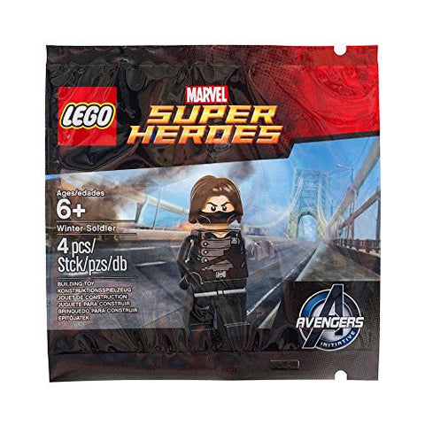 (Lego) LEGO Exclusive Marvel Super Heroes 5002943 Winter Soldier Polybag [parallel import goods]