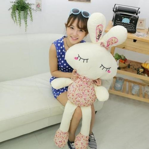 """10"""" Cute Plush Doll Toy Stuffed Animal Rabbit Pillow Quality Bolster Gift uf"""