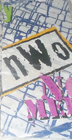 "1999 World Championship Wrestling WCW Party Decoration Paper Tablecover (54"" x 89 1/4"")"