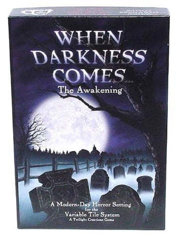 """When Darkness Comes...The Awakening"" Board Game"