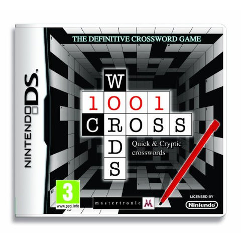 1001 Crosswords (Nintendo DS) (UK IMPORT)