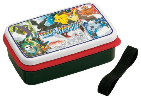 1 stage Pokemon (Best Wishes) lunch box (made of silicon Shirubuta) SSL4 (japan import)