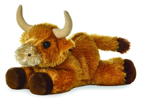 "Aurora Plush Toro Oro Carmel Brown Bull 8"" by Aurora"