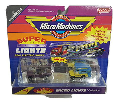 #2 Super Micro Lights Collection by Micro Machines
