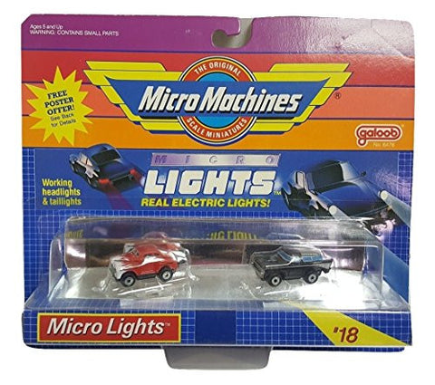 #18 Micro Lights by Micro Machines