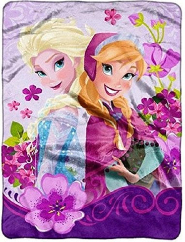 1 X Disney Frozen Celebrate Love Micro Raschel Throw by The Northwest Company, 46 by 60-Inch, Model: , Toys & Play