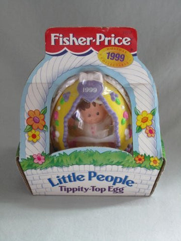 1999 Fisher-Price LITTLE PEOPLE Tippity-Top Egg Holiday Collectable