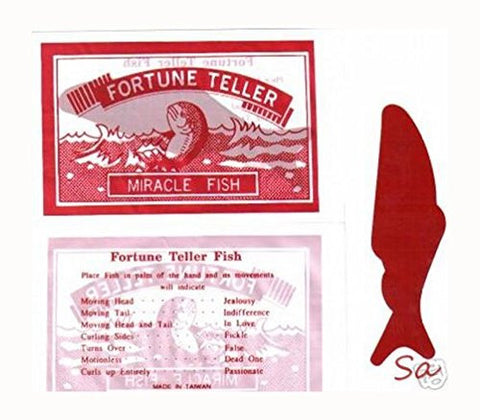 144 Fortune Teller Fish Party Favors Vending REALLY FUN