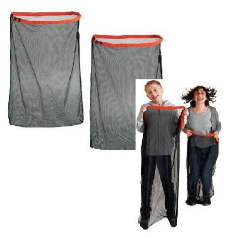 (Set of 2) Game Sacks Bags Races Children & Adults Jumping Entertaining Birthday Park Party