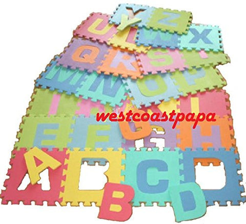 26pcs Alphabet Foam Baby Learning Letter Puzzle Floor Mats